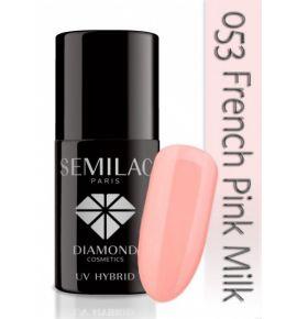 Lakier hybrydowy 053 French Pink Milk