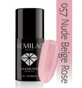 Lakier hybrydowy 057 Nude Beige Rose