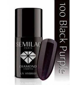 Lakier hybrydowy 100 Black Purple