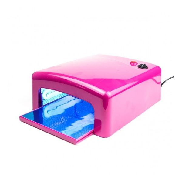 Lampa UV 36W SM818M - Różowa