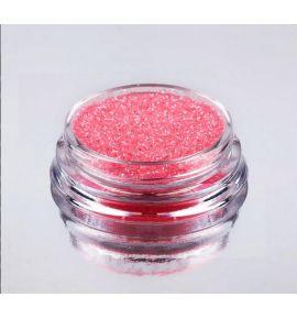 Pyłek do zdobienia paznokci - Glitter Mirror Effect - 9 Koralowy 2g