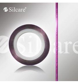 Taśma do zdobień - różne kolory - 08 fiolet z brokatem