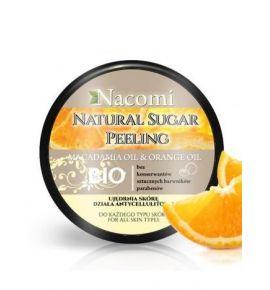 Naturalny Peeling Cukrowy o zapachu Pomarańczy i Olejem Macadamia 100 g
