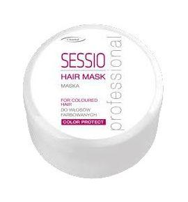 SESSIO Maska do włosów farbowanych