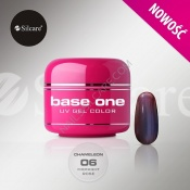 Żel UV Base One Chameleon - 06 Midnight Rose