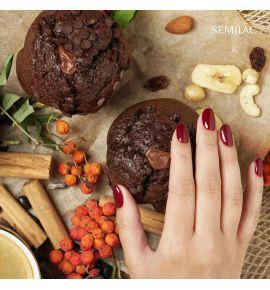 Semilac Lakier hybrydowy 404 Beans Muffin 7ml