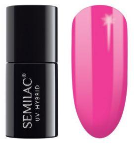 Semilac Lakier Hybrydowy by Margaret 517 Neon pink 7 ml