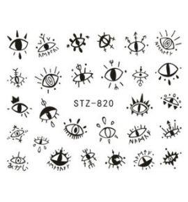 NAKLEJKI Oczy STZ-820