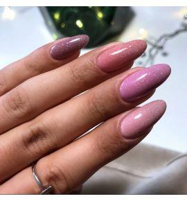 stylizacja paznokci z milionem drobinek