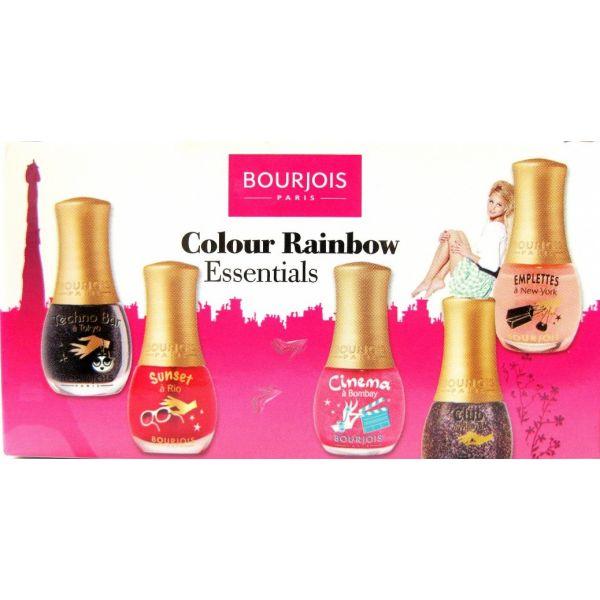 Colour Rainbow Essentials Zestaw 5 Mini Lakierów do paznokci