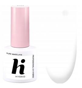 114 hi hybrid Sport lakier hybrydowy Pure White 5 ml