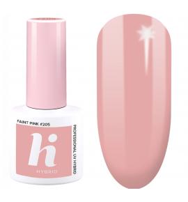 205 hi hybrid Date lakier hybrydowy Faint Pink 5 ml