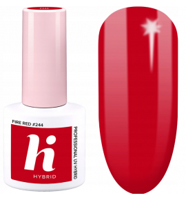 244 hi hybrid Moments lakier hybrydowy Fire Red 5ml
