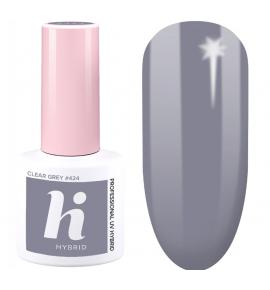 424 hi hybrid Date lakier hybrydowy Clear Grey 5 ml