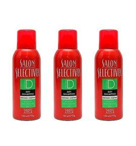 Zestaw 3 x Suchy Szampon o zapachu Zielonego Jabłka