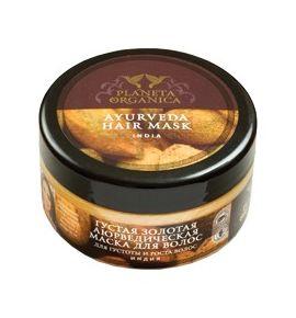 Złota Ajurwedyjska Maska do włosów zniszczonych i osłabionych