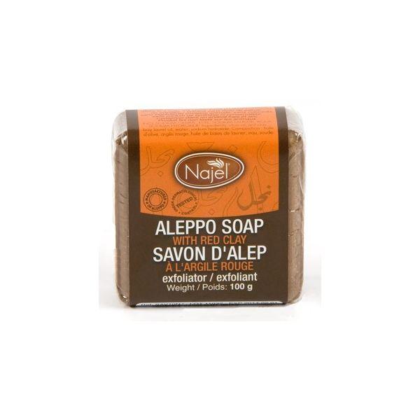 Mydło z Aleppo z Czerwoną Glinką