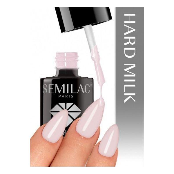 Semilac Lakier hybrydowy Semi HARDI MILK