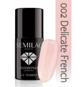 Semilac Lakier hybrydowy 002 Delicate French