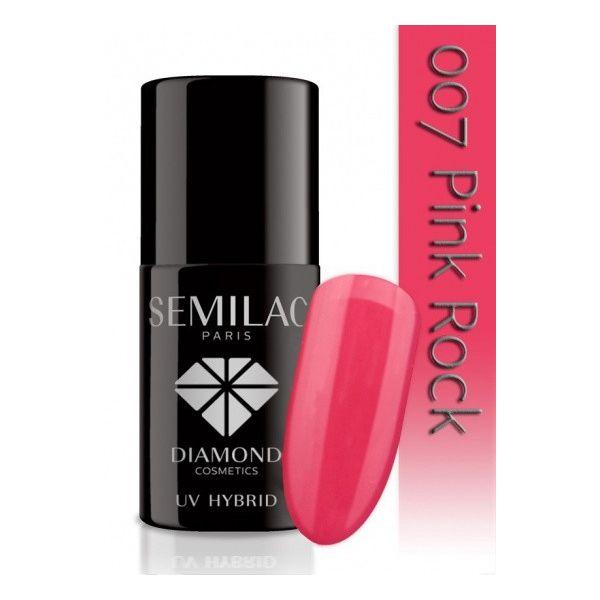 Semilac Lakier hybrydowy 007 Pink Rock