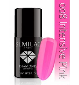 Semilac Lakier hybrydowy 008 Intensive Pink