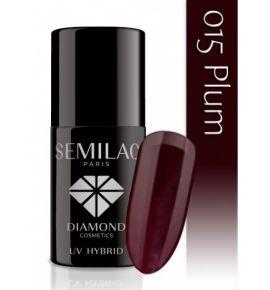 Semilac Lakier hybrydowy 015 Plum