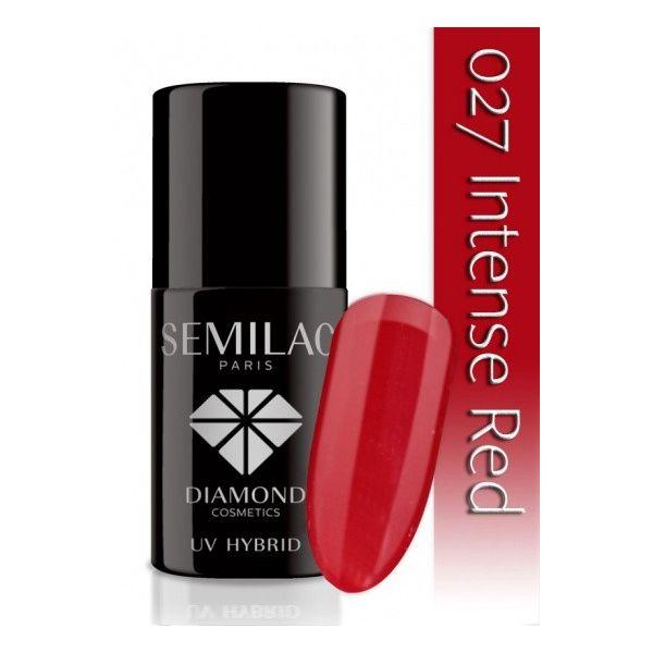 Semilac Lakier hybrydowy 027 Intense Red
