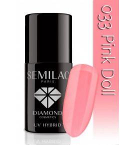 Lakier hybrydowy 033 Pink Doll