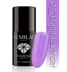 Lakier hybrydowy 035 Bright Lavender