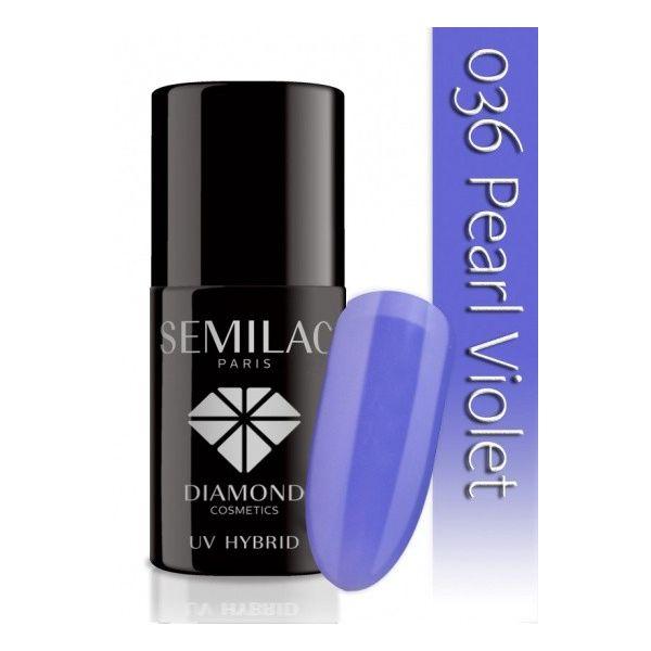 Lakier hybrydowy 036 Pearl Violet