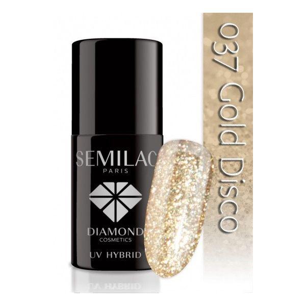 Semilac Lakier hybrydowy 037 Gold Disco