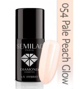 Lakier hybrydowy 054 Pale Peach Glow