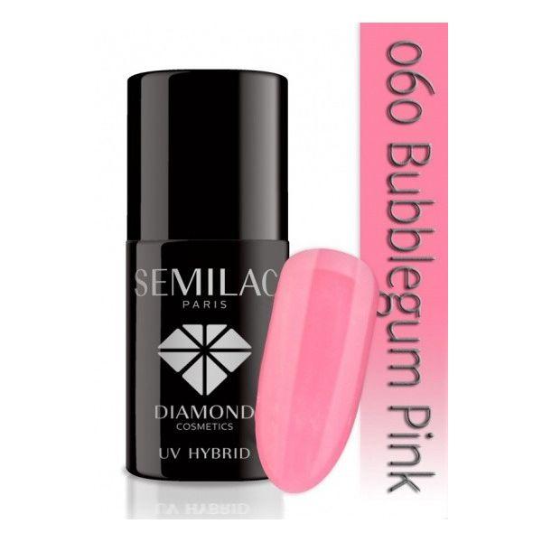 Lakier hybrydowy 060 Bubblegum Pink