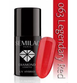 Lakier hybrydowy 063 Legendary Red