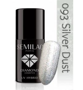 Lakier hybrydowy 093 Silver Dust
