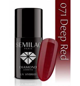 Lakier hybrydowy 071 Deep Red