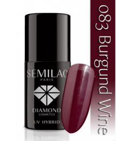 Semilac Lakier hybrydowy 083 Burgundy Wine