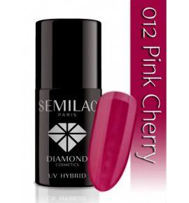 Lakier hybrydowy 012 Pink Cherry