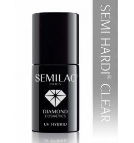 Semilac Lakier hybrydowy Semi HARDI Clear