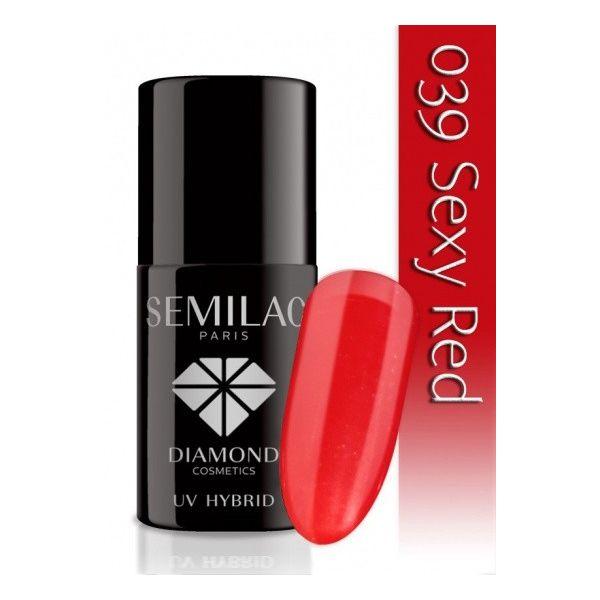 Lakier hybrydowy 039 Sexy Red