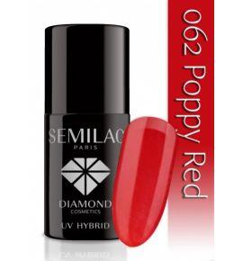 Lakier hybrydowy 062 Poppy Red