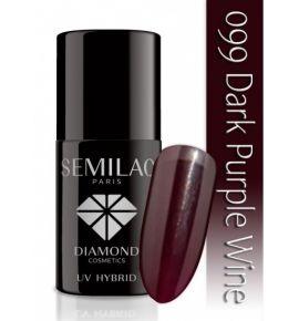 Lakier hybrydowy 099 Dark Purple Wine
