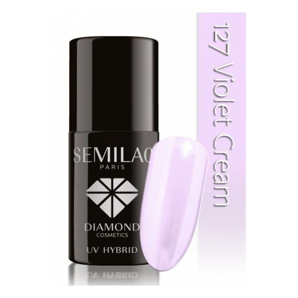 Lakier hybrydowy 127 Violet Cream