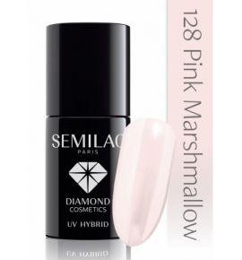 Lakier hybrydowy 128 Pink Marshmallow