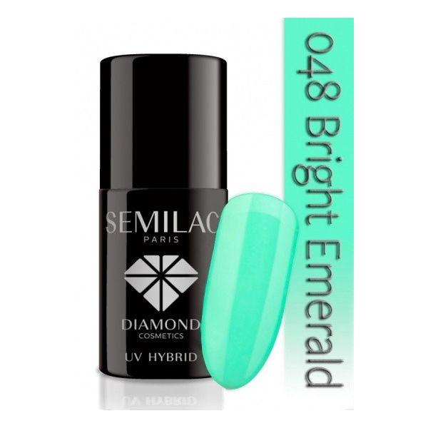 Lakier hybrydowy 048 Bright Emerald