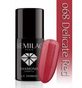 Lakier hybrydowy 068 Delicate Red