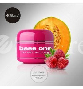 Base One Clear Raspberry Melon 50 g - Żel zapachowy Clear o zapachu maliny i melona