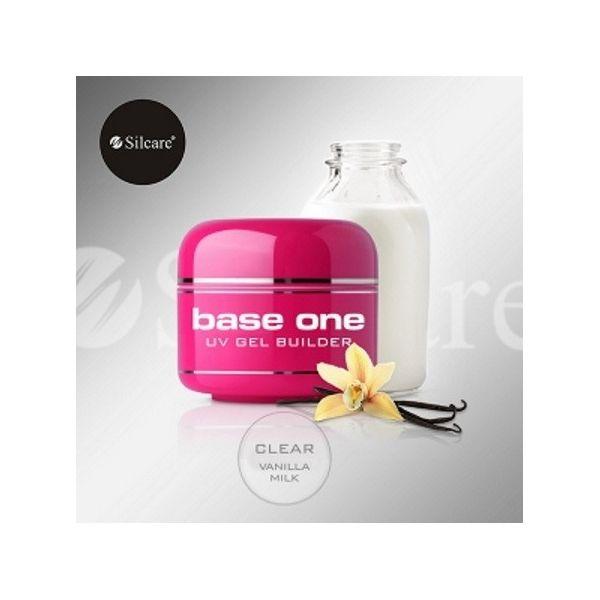 Base One Clear Vanilla Milk 50 g - Żel zapachowy Clear wanilia i mleko