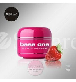 Base One Clear Stawberry - Żel zapachowy Clear truskawka 5g