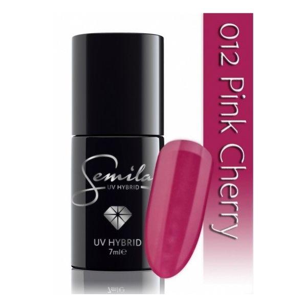 Lakier hybrydowy Semilac 012 Pink Cherry